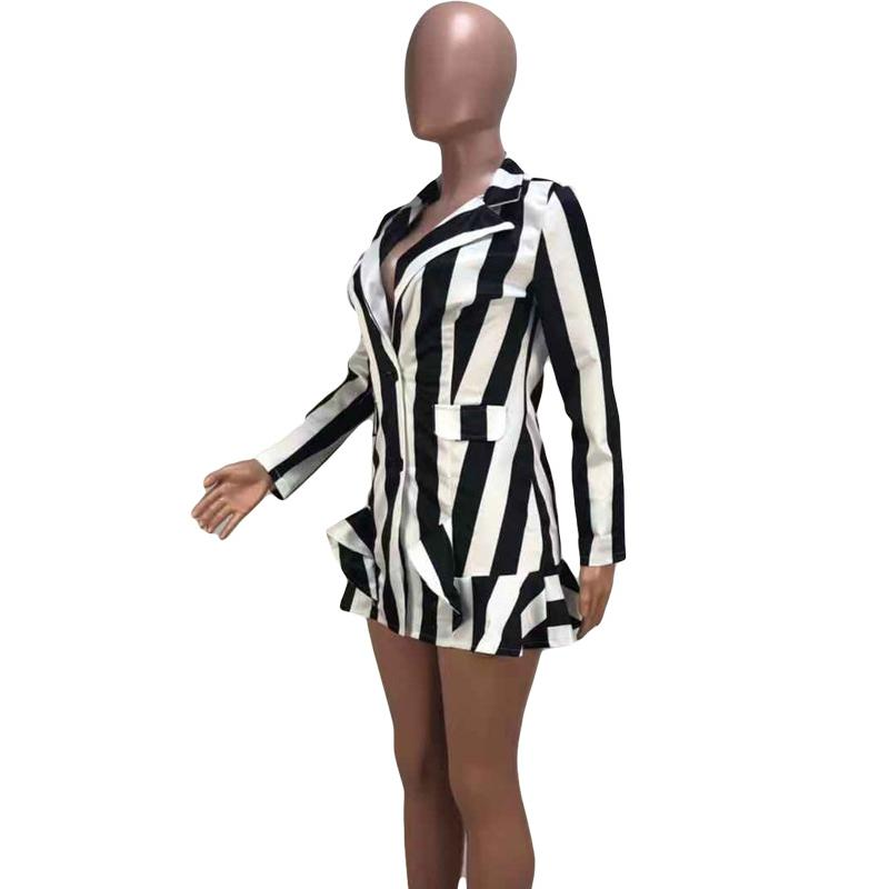 Fashion Striped Dress