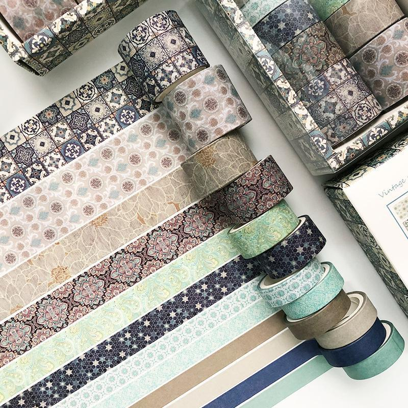 DIY Decoration Washi Tape Collection(12 PCS)
