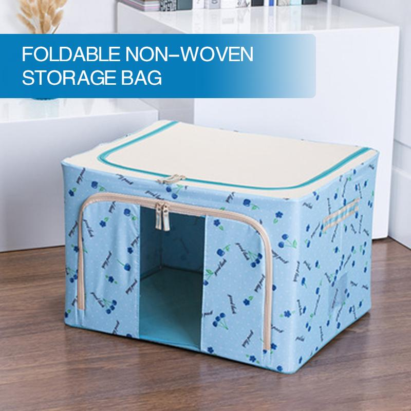 Foldable Storage Bag For Quilt And Clothes