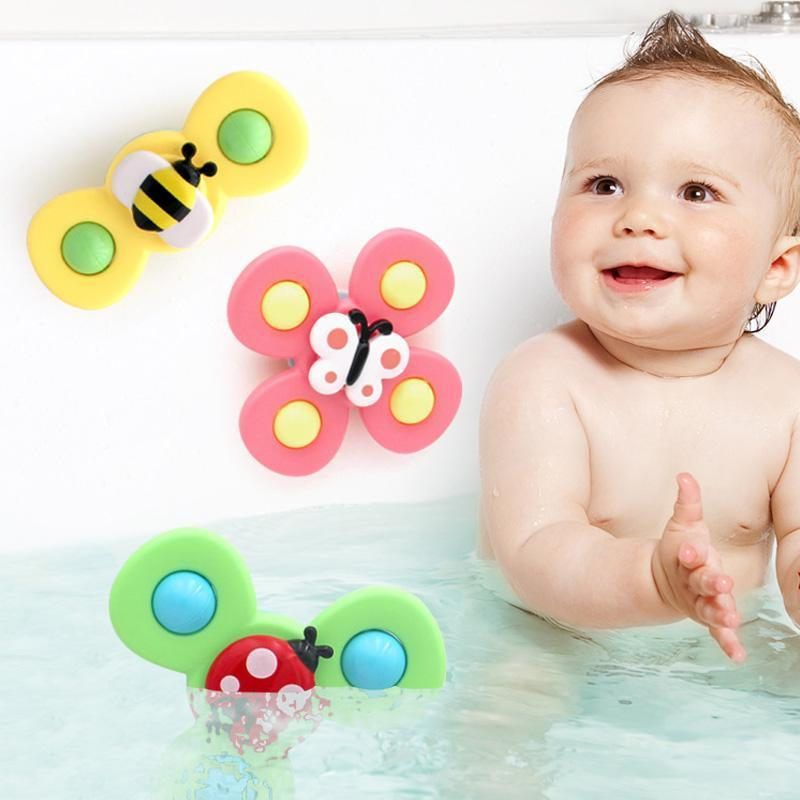 Rotating Insect Bath Toy, 3 PCs