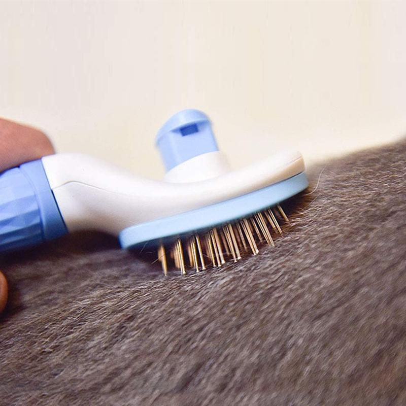 Premium Pets Self Cleaning Slicker Brush