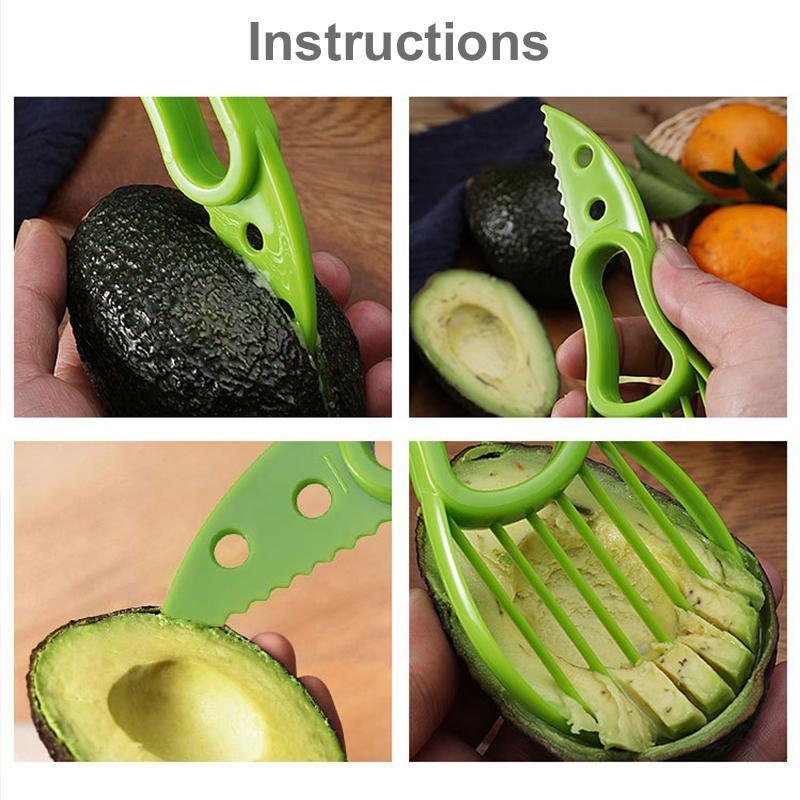 3 in 1 Avocado Separator