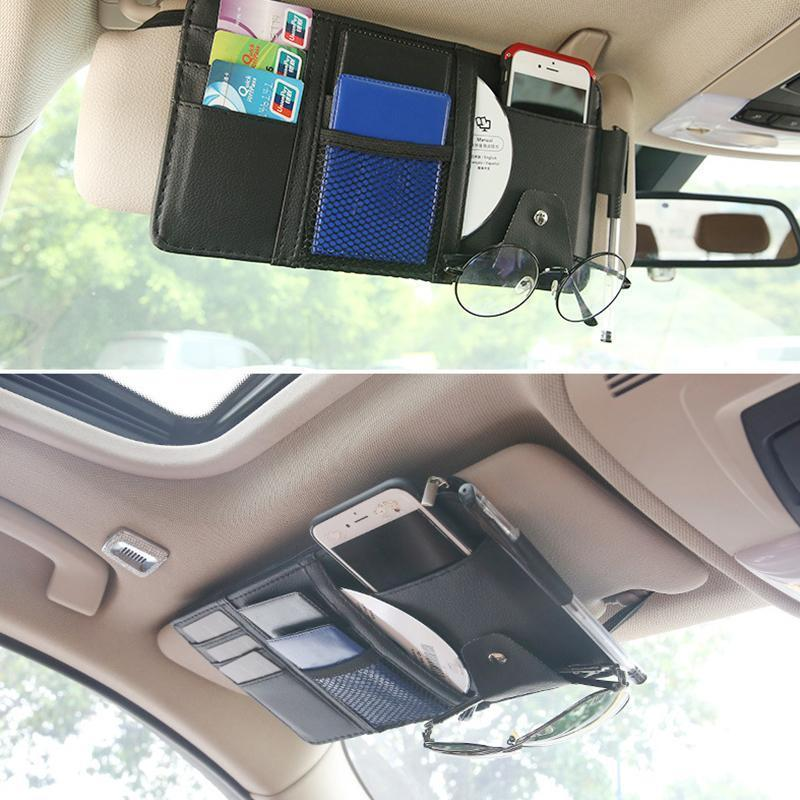 All-In-One Car Sun Visor Organizer