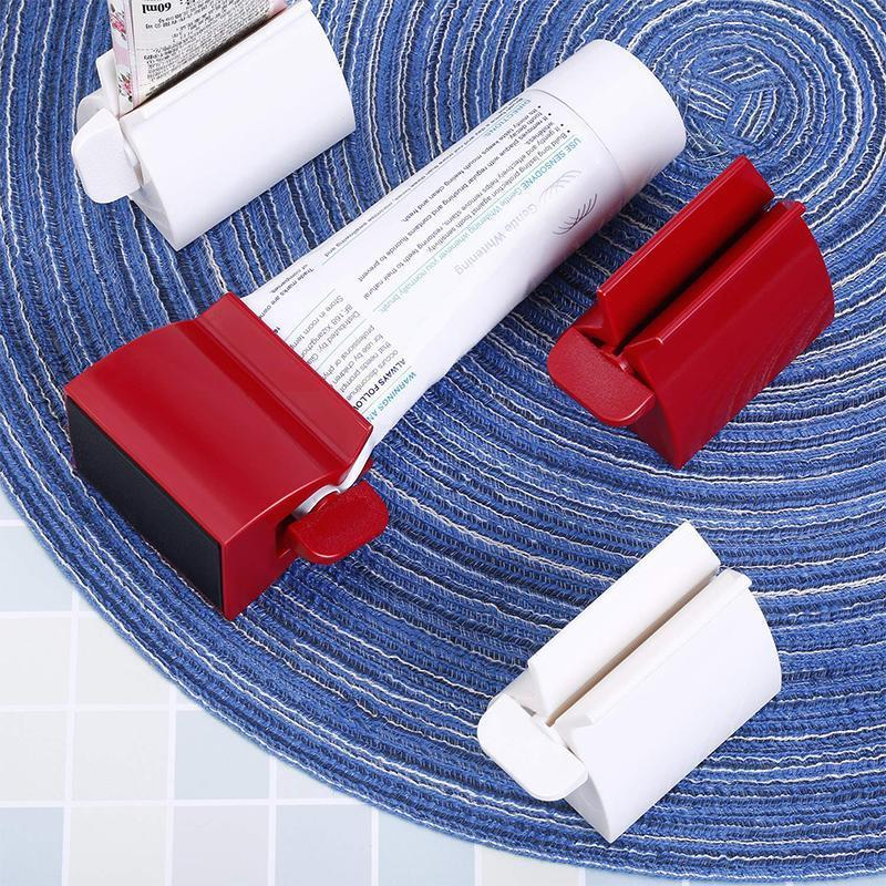 Rolling Tube Toothpaste Squeezer Toothpaste Holder Stand
