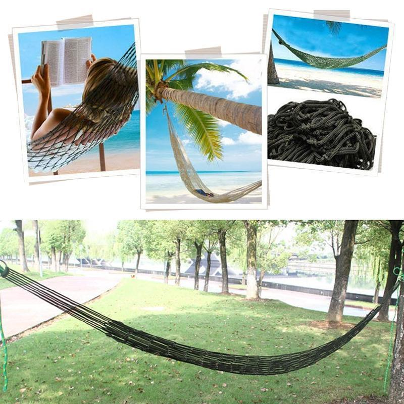 Nylon Rope Hammock Swing