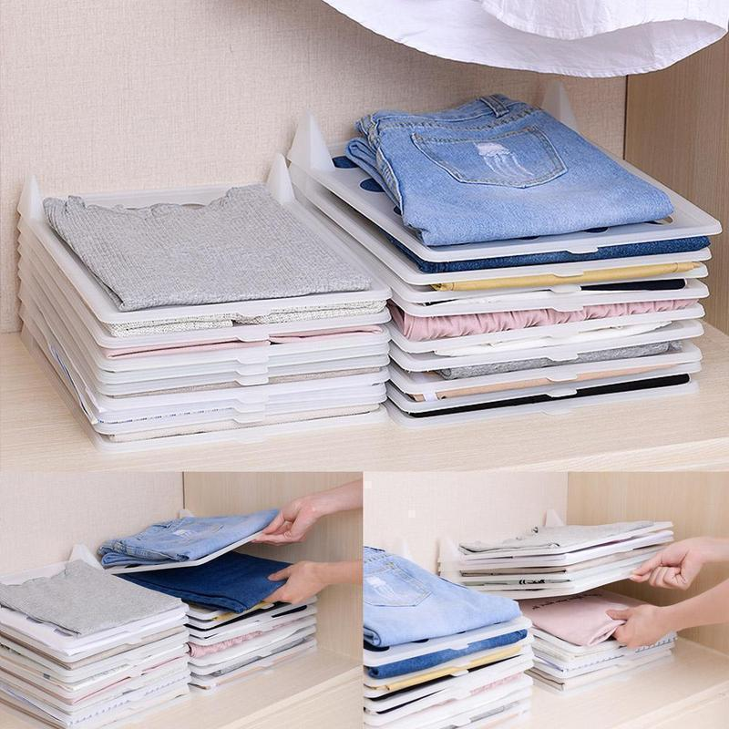 Folding Clothes Storage Board