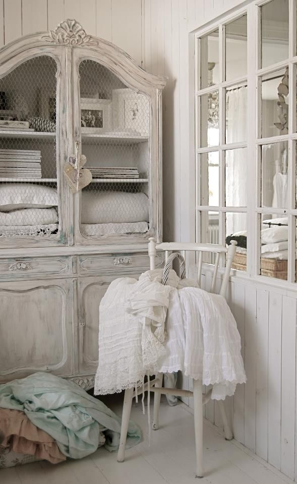 shabby chic armoires