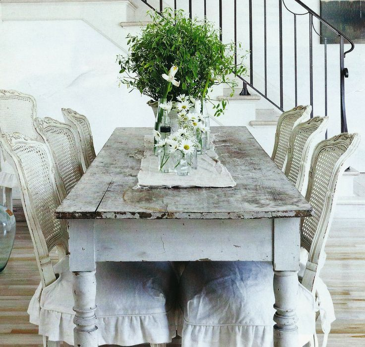 french shabby chic cafe style table