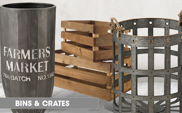 Farmhouse Bind and Crates