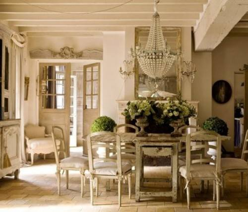 French-Country-dining