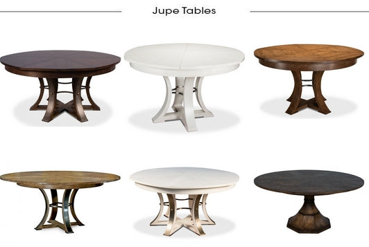 Round Jupe Dining Tables from Belle Escape