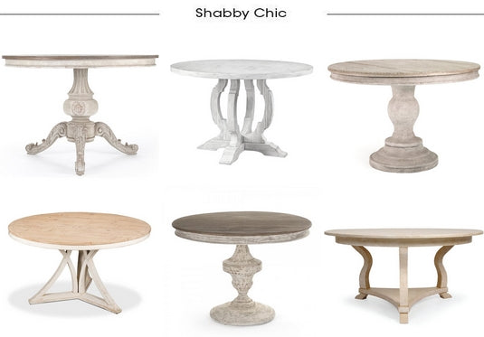 Shabby Chic Dining Tables from Belle Escape