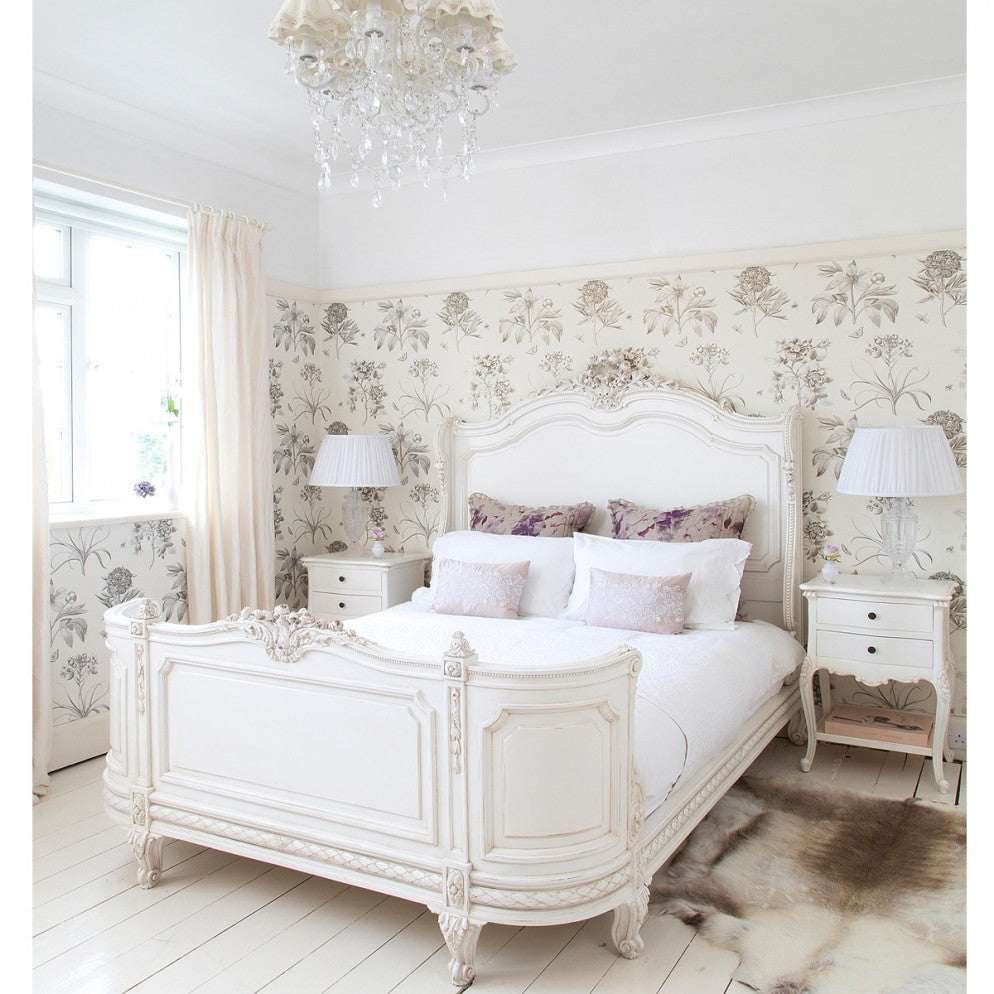 awesome-white-country-style-bedroom-furniture-images