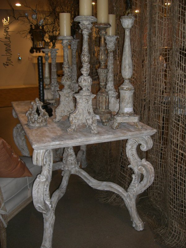 french candleholders