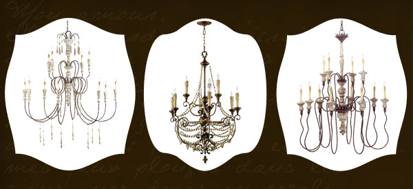 french style chandeliers