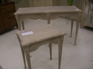 french style console tables