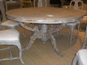 Provence style dining table