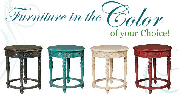 custum color furniture