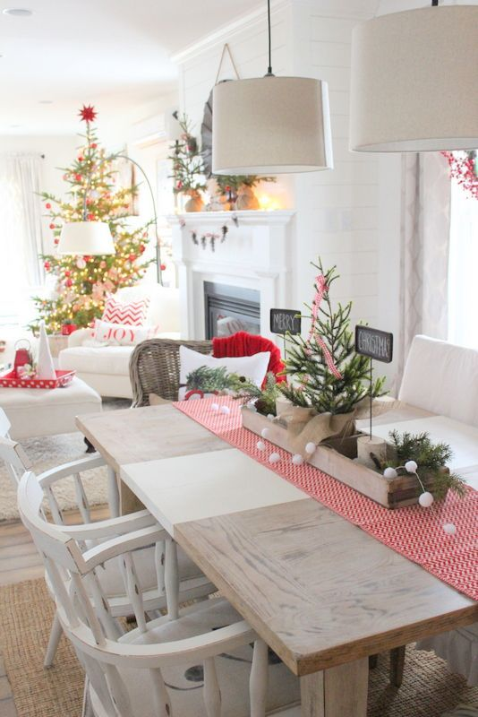 cozy holiday table