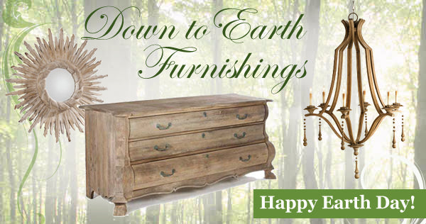 earthy cottage style furniture and decor