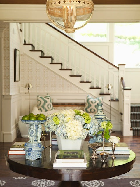 Things We Love: Round Entry Table - Thornton Design