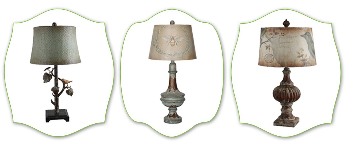 cottage style lamps