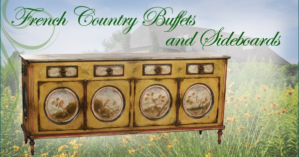 french country buffets and sideboards