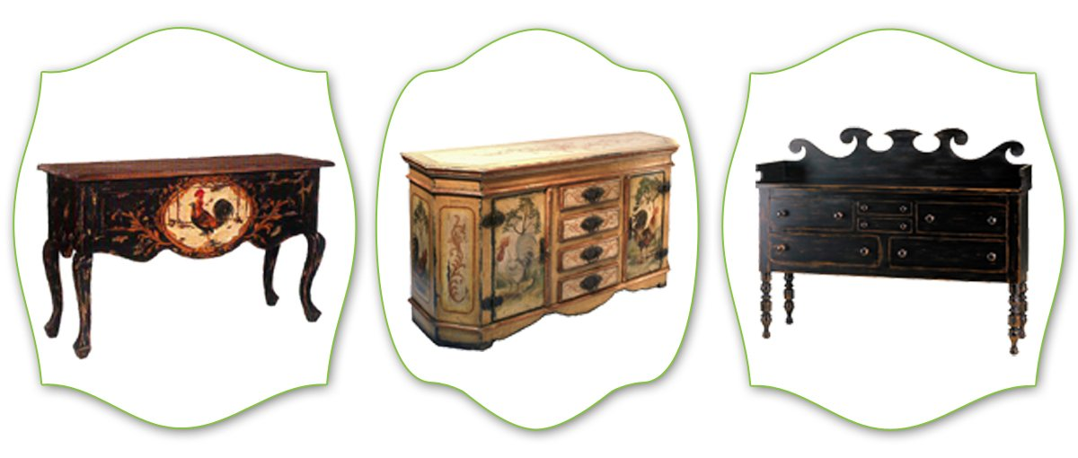 french country buffet and sideboard