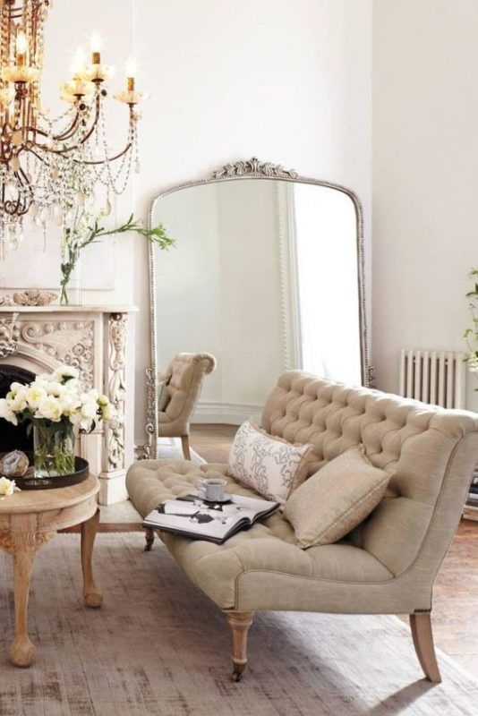 Vintage French living room