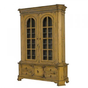 french country display cabinet