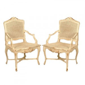 shabby chic arm chairs