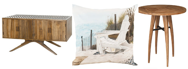 outdoor furnishings and decor