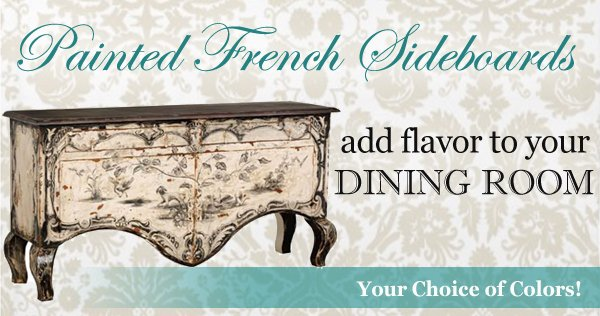 painted french buffets and sideboards