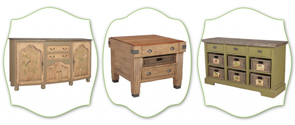Earthy cottage furniture