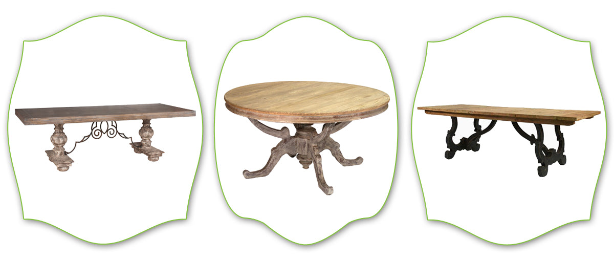 provence style dining tables