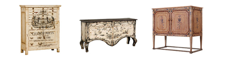 Artistic details make Impressionist furniture extraordinary.