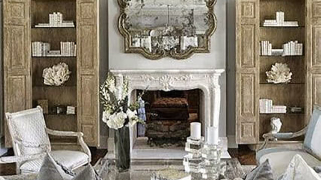Upscale Provence Living Room