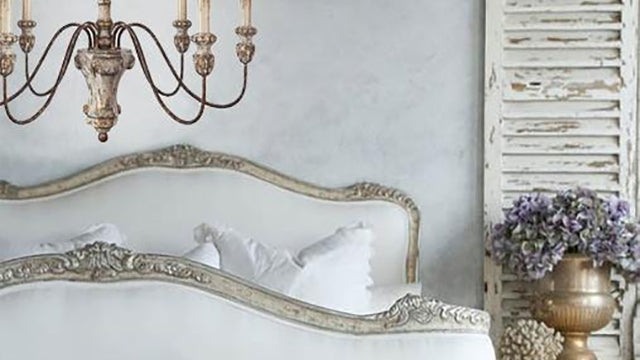 Old World Provence Bedroom