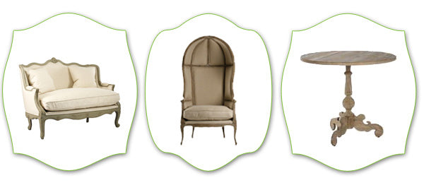 french country furnishings