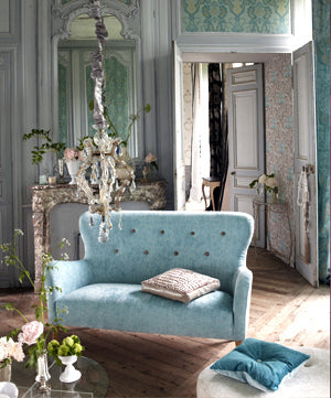 Vintage french sitting room