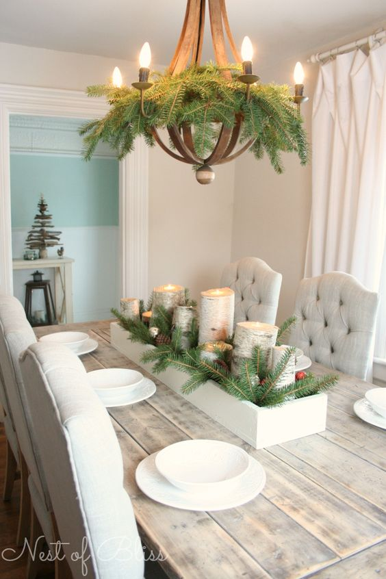 simple family dining room