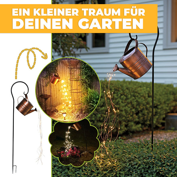 LED Gießkanne | Gartendekoration | Lichtdekoration