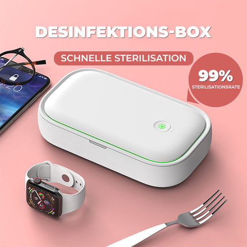 UV-Desinfektionsbox + Wireless Charging