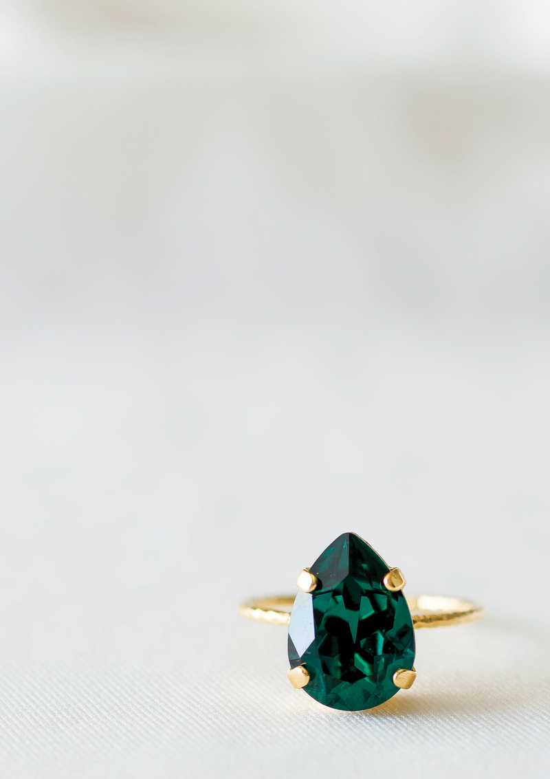 The Princess Ring | Emerald