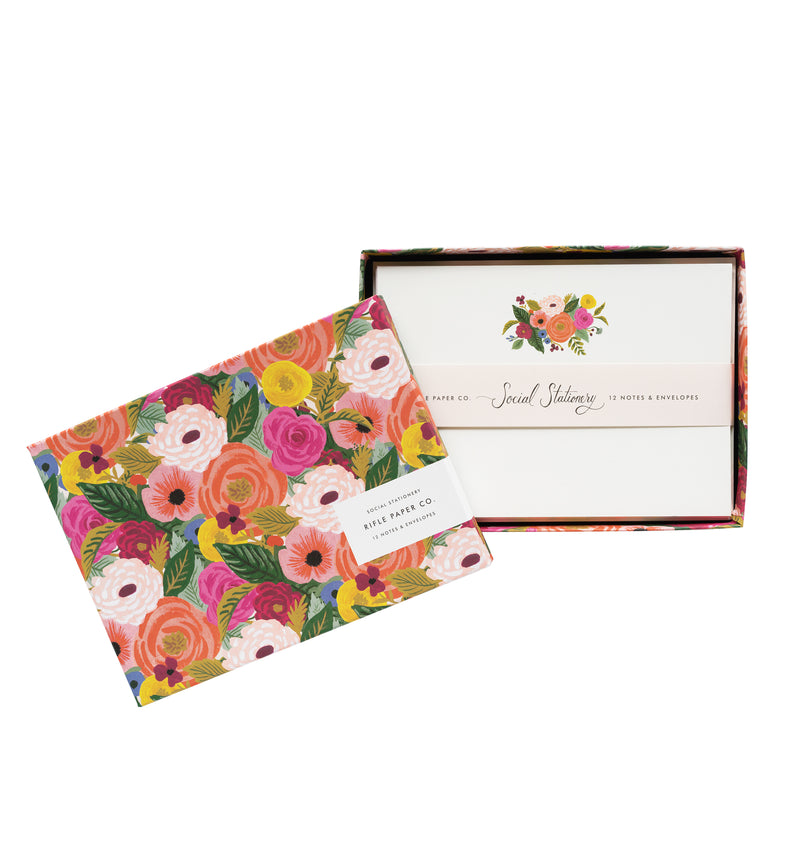 Juliet Rose Social Stationery Set for thank-yous, greetings, and everything in between.