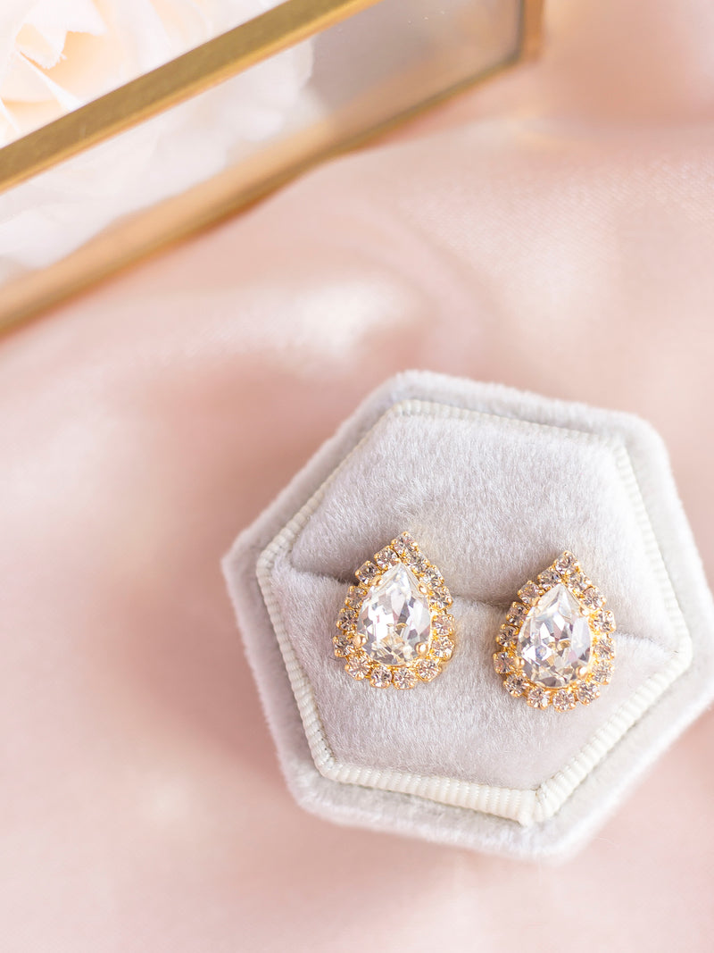 The Sparkling Cinderella Earrings