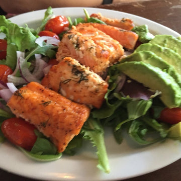 Wild King Salmon Salade