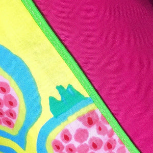 50x50 Vibrant Pomegranate Cushions