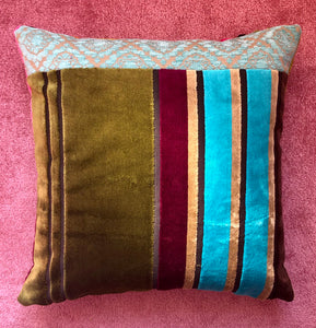 Little and Large Dual Aspect Designers Guild Patchwork Cushions