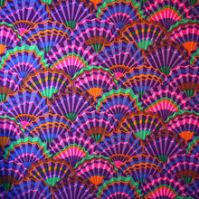 Load image into Gallery viewer, Kaffe Fassett Collective 'Purple Paper Fans'
